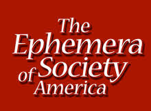 The Ephemera Society of America